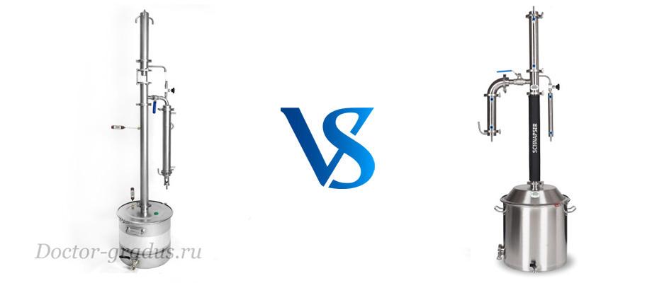 Что лучше выбрать Стиллмен Х или Шнапсер Х03